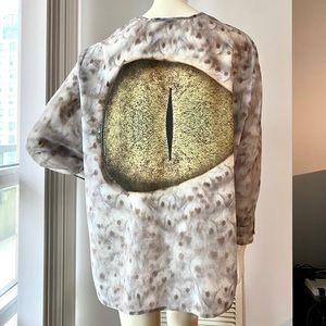 Vintage sheer blouse size EUR 36 (S)